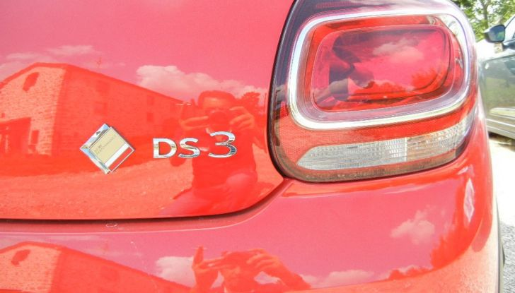 DS3 Performance fanale posteriore