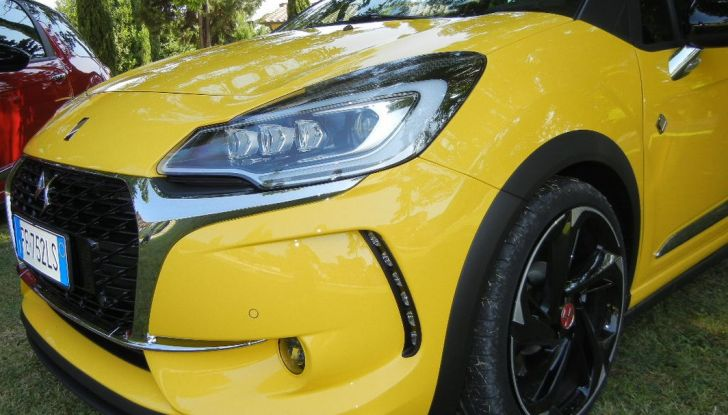 DS3 Performance fanale anteriore