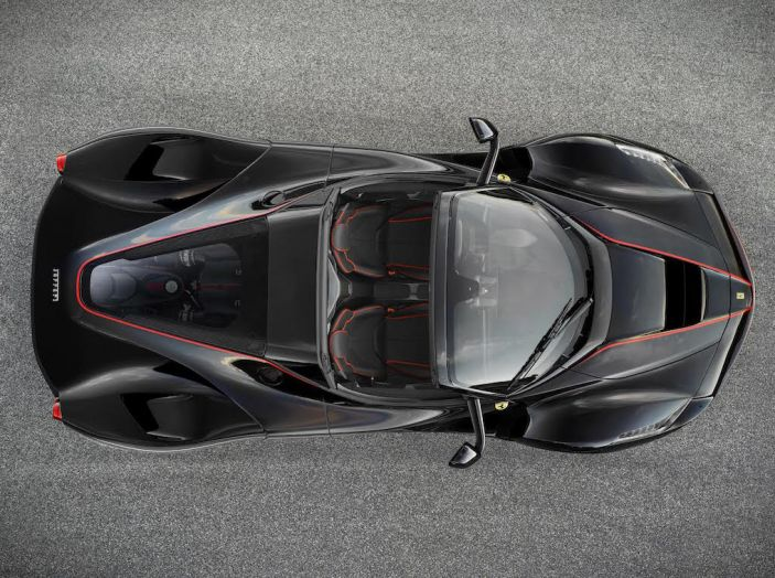 Ferrari LaFerrari, arriva la versione scoperta da 963CV - Foto 3 di 4