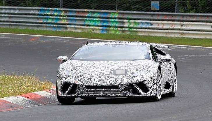 Lamborghini Huracan Superleggera 2017: le foto spia dei test al Nurburgring - Foto 2 di 20