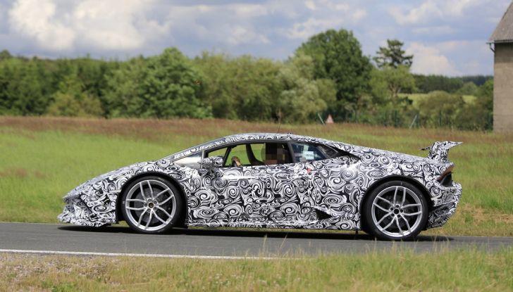 Lamborghini Huracan Superleggera 2017: le foto spia dei test al Nurburgring - Foto 12 di 20