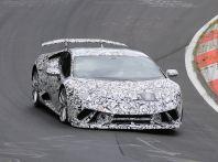Lamborghini Huracan Superleggera 2017: le foto spia dei test al Nurburgring