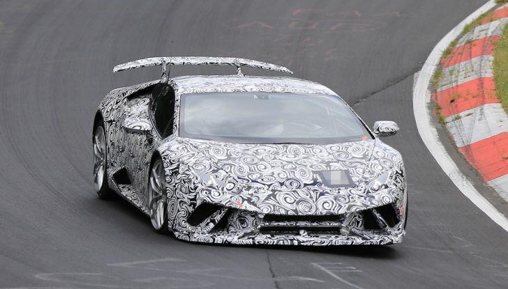 Lamborghini Huracan Superleggera 2017: le foto spia dei test al Nurburgring - Foto 1 di 20