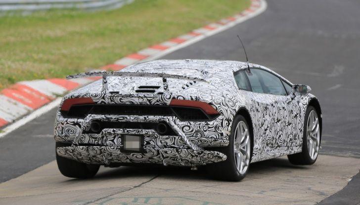 Lamborghini Huracan Superleggera 2017: le foto spia dei test al Nurburgring - Foto 19 di 20