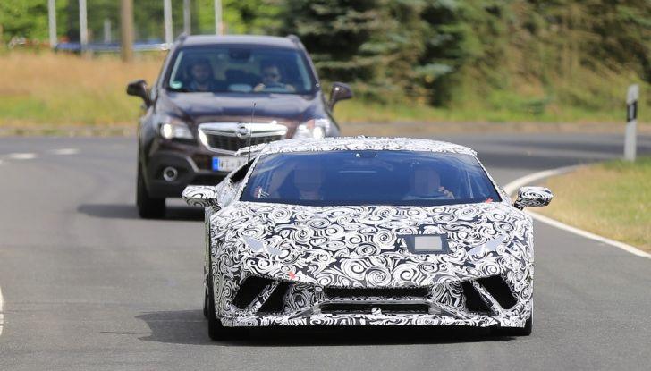 Lamborghini Huracan Superleggera 2017: le foto spia dei test al Nurburgring - Foto 9 di 20