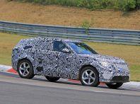 Nuova Land Rover Range Sport Coupe, prime foto spia dal Nurburgring