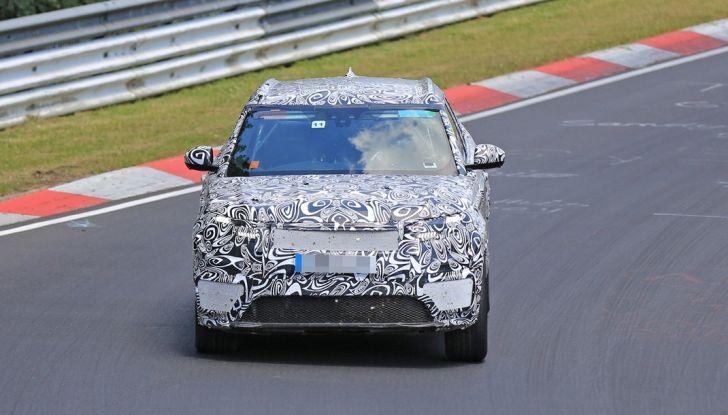 Nuova Land Rover Range Sport Coupe, prime foto spia dal Nurburgring - Foto 8 di 15