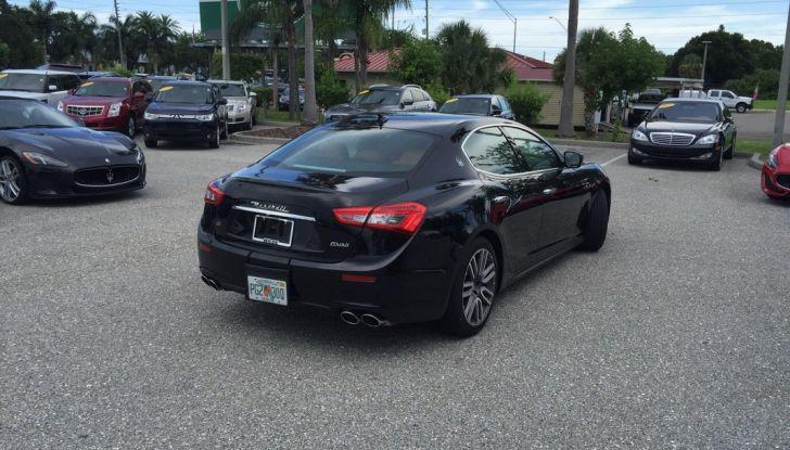 Provata su strada in Florida (USA) la nuova Maserati Ghibli Q4 da 404 CV - Foto 12 di 12
