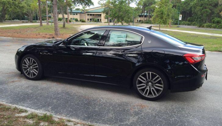 Provata su strada in Florida (USA) la nuova Maserati Ghibli Q4 da 404 CV - Foto 4 di 12