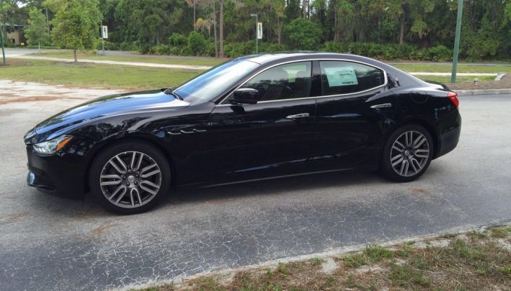 Provata su strada in Florida (USA) la nuova Maserati Ghibli Q4 da 404 CV - Foto 5 di 12