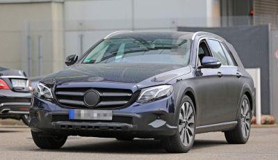 Mercedes Benz Classe E All Terrain: le prime foto spia