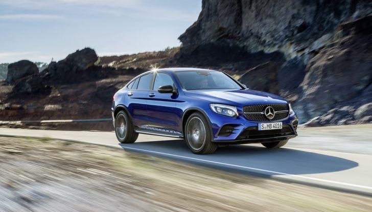 Mercedes GLC Coupè prova su strada, prezzi e allestimenti - Foto 17 di 27
