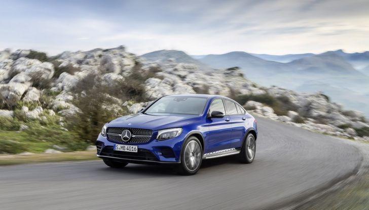 Mercedes GLC Coupè prova su strada, prezzi e allestimenti - Foto 19 di 27