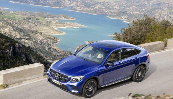 Mercedes GLC Coupè prova su strada, prezzi e allestimenti - Foto 2 di 27