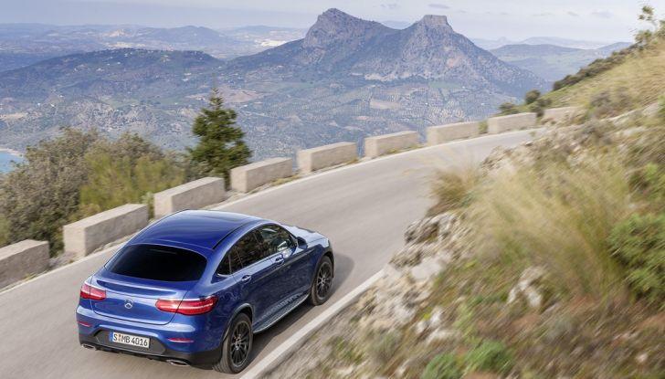 Mercedes GLC Coupè prova su strada, prezzi e allestimenti - Foto 7 di 27