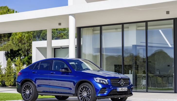 Mercedes GLC Coupè prova su strada, prezzi e allestimenti - Foto 11 di 27