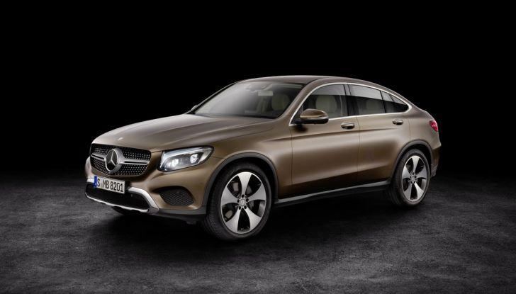 Mercedes GLC Coupè prova su strada, prezzi e allestimenti - Foto 14 di 27