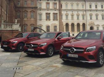 Mercedes GLC Coupè prova su strada, prezzi e allestimenti