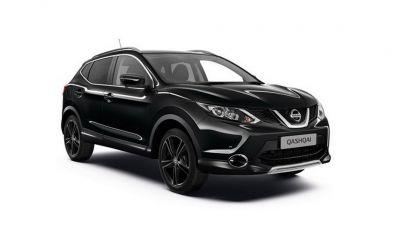 Nissan Qashqai Black Edition, serie speciale da 3.360 unità
