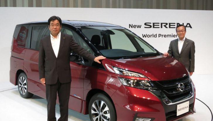 Nuova Nissan Serena, ora con ProPILOT per la guida autonoma - Foto 9 di 10