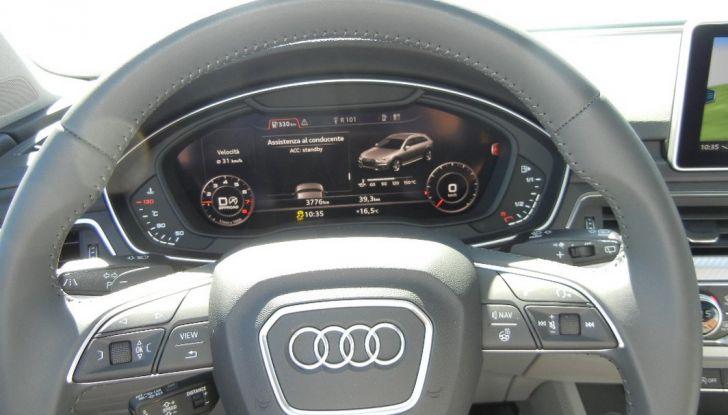 Nuova Audi A4 allroad quattro cruscotto