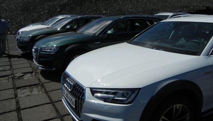 Nuova Audi A4 allroad quattro gamma