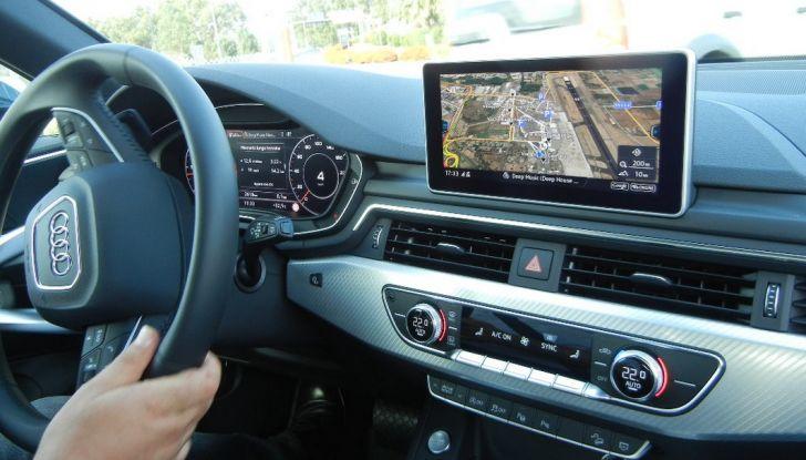 Nuova Audi A4 allroad quattro postazione guida