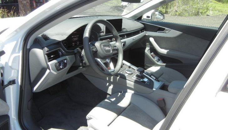 Nuova Audi A4 allroad quattro interno