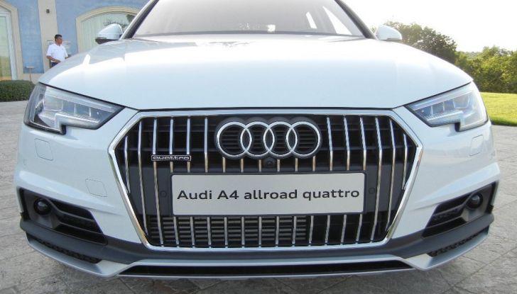 Nuova Audi A4 allroad quattro calandra