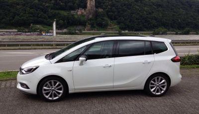 Nuova Opel Zafira: prova su strada, motori, allestimenti e impressioni di guida