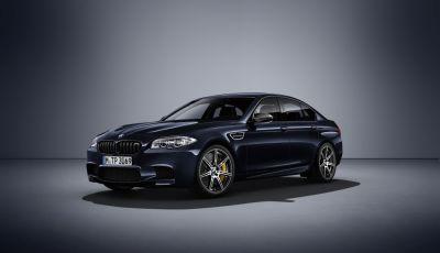 Nuova BMW M5 Competition Edition, la berlina da 600CV e 700Nm