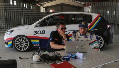 Stefano Accorsi protagonista del TCR con la Peugeot 308 Racing Cup