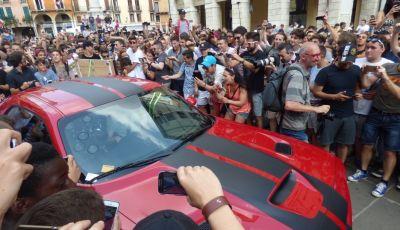 Jeremy Clarkson, Richard Hammond e James May a Vicenza