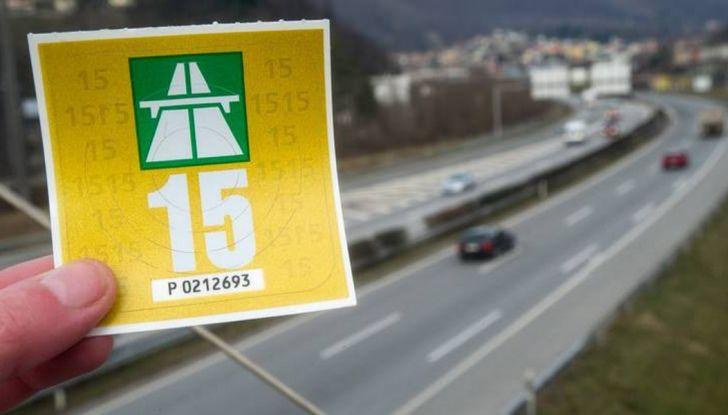 Prezzo vignetta autostradale Slovenia, Austria e Svizzera: ecco quanto costa - Foto 3 di 7