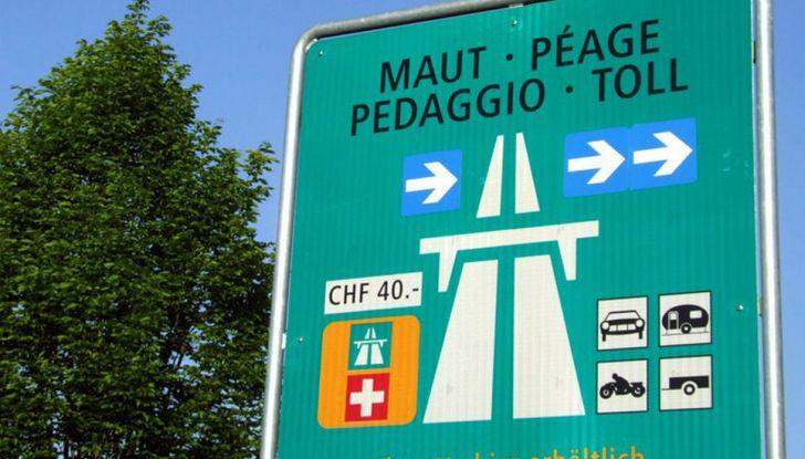 Prezzo vignetta autostradale Slovenia, Austria e Svizzera: ecco quanto costa - Foto 6 di 7