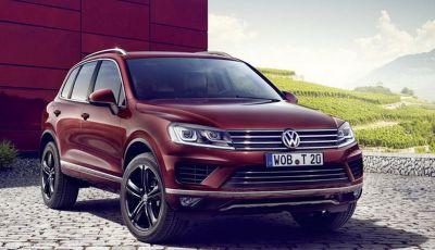 Volkswagen Touareg Executive Edition, versione esclusiva da 64.925 euro