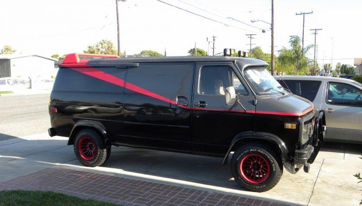 GMC Vandura: il mitico furgone dell'A-Team - Foto 8 di 9