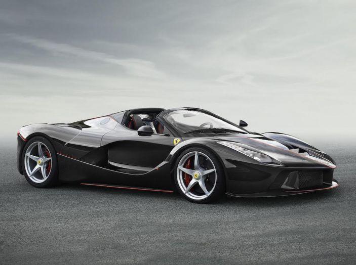 Ferrari LaFerrari, arriva la versione scoperta da 963CV