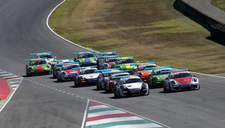 Tris di vittorie al Mugello per Ledogar nella Carrera Cup Italia - Foto 1 di 9