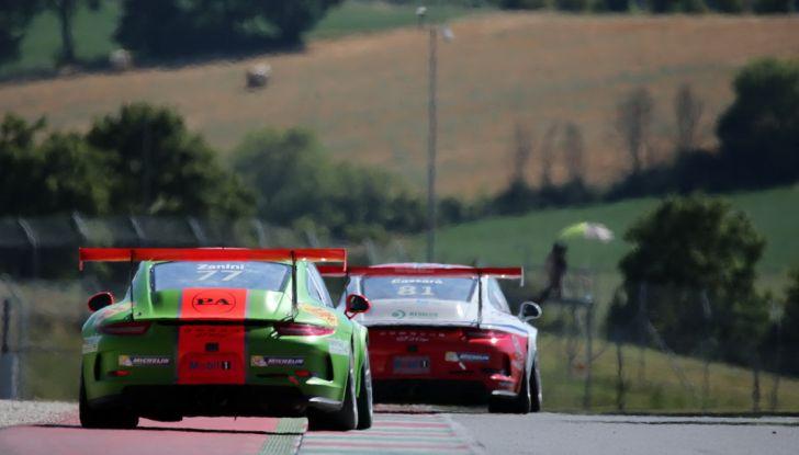 Tris di vittorie al Mugello per Ledogar nella Carrera Cup Italia - Foto 8 di 9