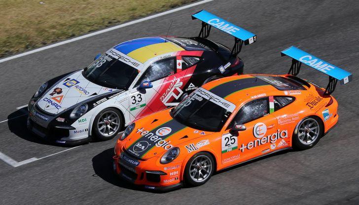 Tris di vittorie al Mugello per Ledogar nella Carrera Cup Italia - Foto 3 di 9