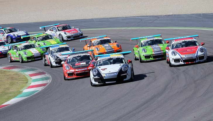 Tris di vittorie al Mugello per Ledogar nella Carrera Cup Italia - Foto 6 di 9