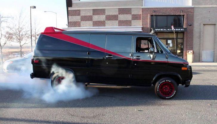GMC Vandura: il mitico furgone dell'A-Team - Foto 3 di 9