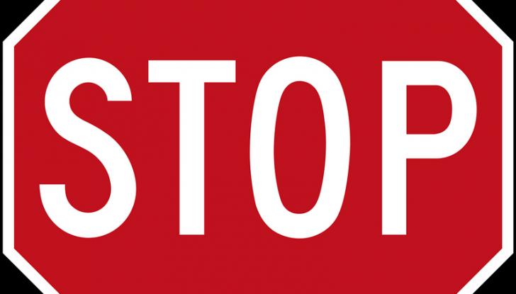 stop alle auto