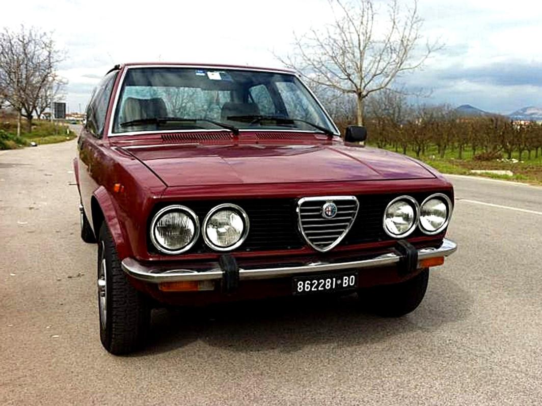Alfa Romeo Alfetta 2018 Verso Il Ritorno Il Rendering Di