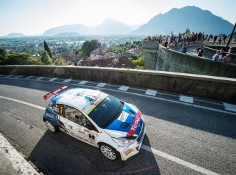 Rally Friuli, piazza d'onore per Andreucci in Tappa 1