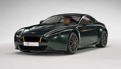 Aston Martin V12 Vantage S Spitfire 80 presentata in un video