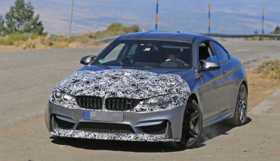Nuova BMW M4 Coupé 2017 Facelift, le prime foto spia