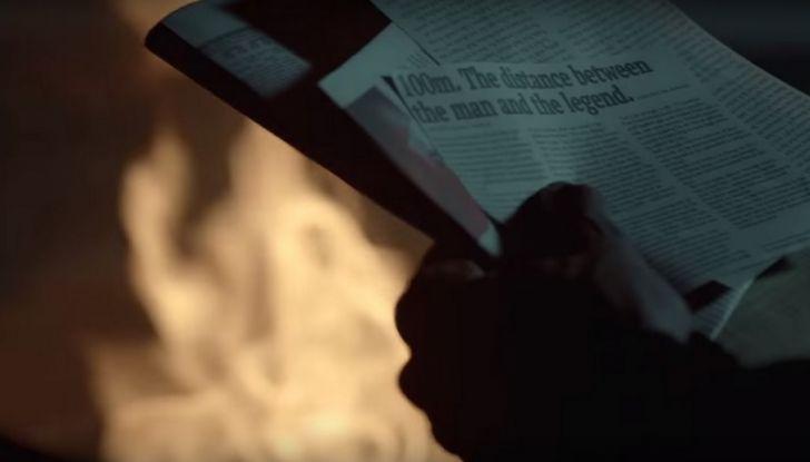 Nissan e Usain Bolt: sfida contro il fuoco per presentare la nuova GT-R - Foto 6 di 12