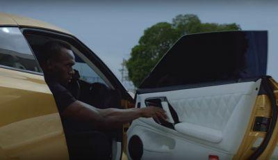 Nissan e Usain Bolt: sfida contro il fuoco per presentare la nuova GT-R